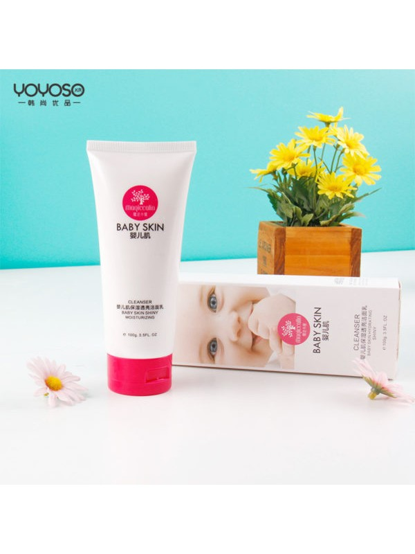 Baby Skin Moisturizing Facial Cleanser