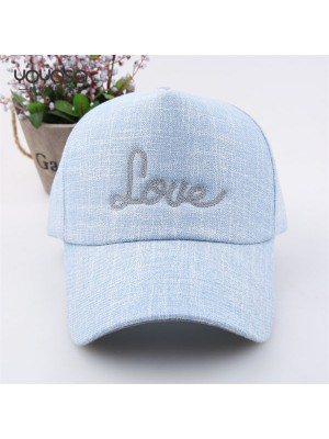 Embroidered Love Baseball Cap