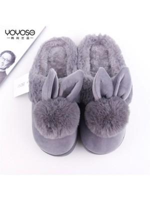 Bunny Gray Slipper