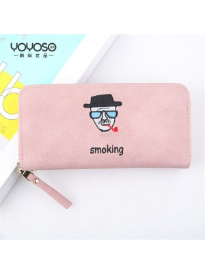 Cartoon Character portrait Mr. Long wallet