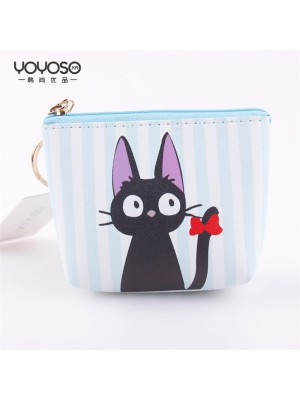 Black Cat small Purse