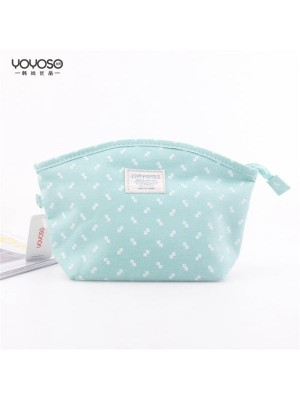 Bow Cloth Cosmetic Bag